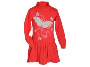 Платье №08 красное
