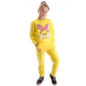 Костюм девочка №706 желтый