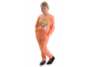 Костюм девочка №706 оранжевый