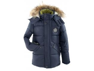 Куртка мальчик №6-705 синяя