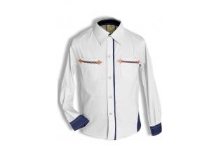 Рубашка мальчик №202 белая