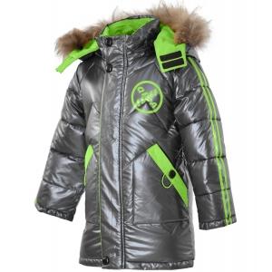 Куртка на мальчика серая