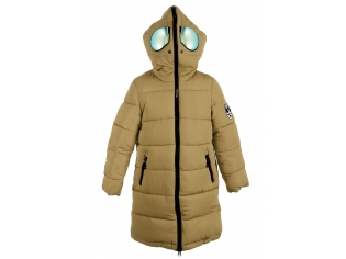 Куртка девочка №66-288 бежевая