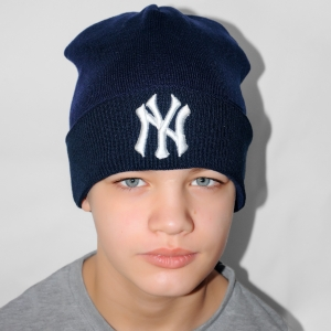 Шапка New York синяя