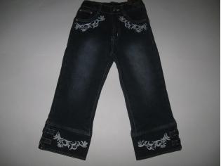 бриджи джинс флис № 413 (опт - скидка 35%) РАСПРОДАЖА