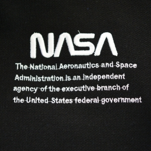 Худи NASA черная