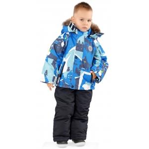 Костюм зимний на мальчика  синий