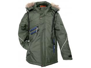 Куртка мальчик №6-725 оливковая