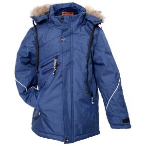 Куртка мальчик синяя
