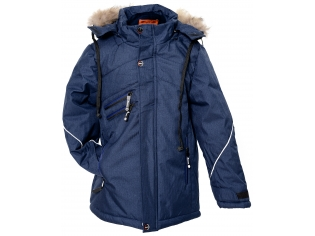 Куртка мальчик №6-725 темно-синяя