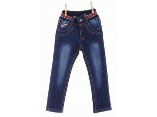 Брюки джинс мальчик флис №8806