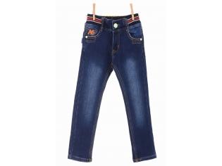 Брюки джинс мальчик флис №5521