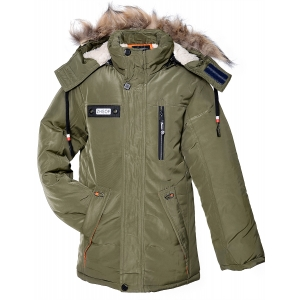 Куртка мальчик №812 хаки