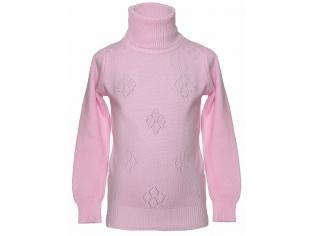 Свитер девочка №8811 розовый