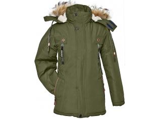 Куртка мальчик №813 хаки