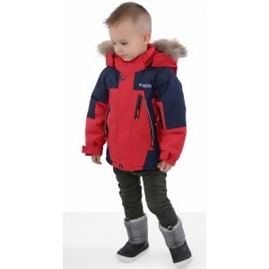 Куртка зимняя на мальчика цвет красный