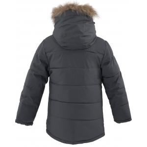 Куртка зимняя на мальчика цвет серый