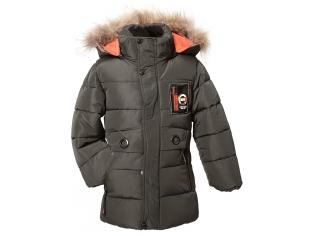 Куртка мальчик №860 серая