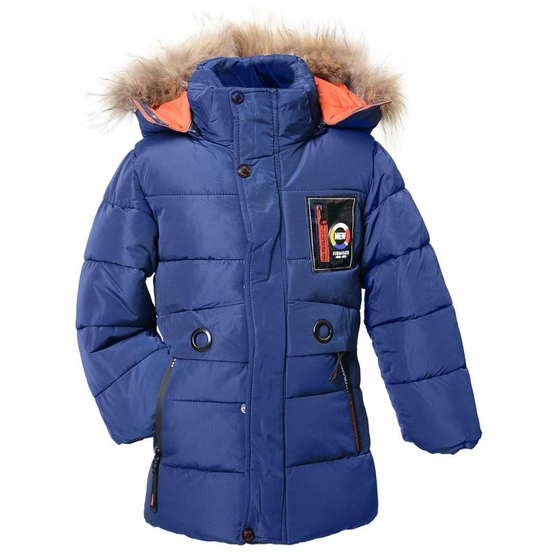 Куртка мальчик №860 голубая