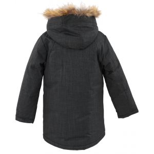 Куртка зимняя на мальчика цвет темно серый