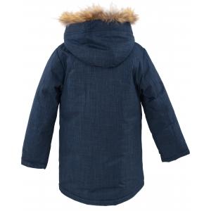 Куртка зимняя на мальчика цвет темно синий