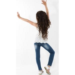 Брюки джинсовые на девочек