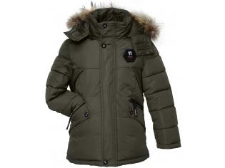 Куртка мальчик №7-108 зеленая