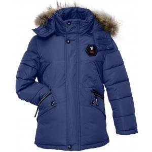 Куртка мальчик №7-108 синяя