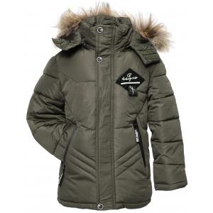 Куртка мальчик №7-115 зеленая