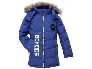 Куртка мальчик №7-612 синяя