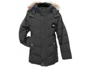 Куртка мальчик №7-615 зеленая