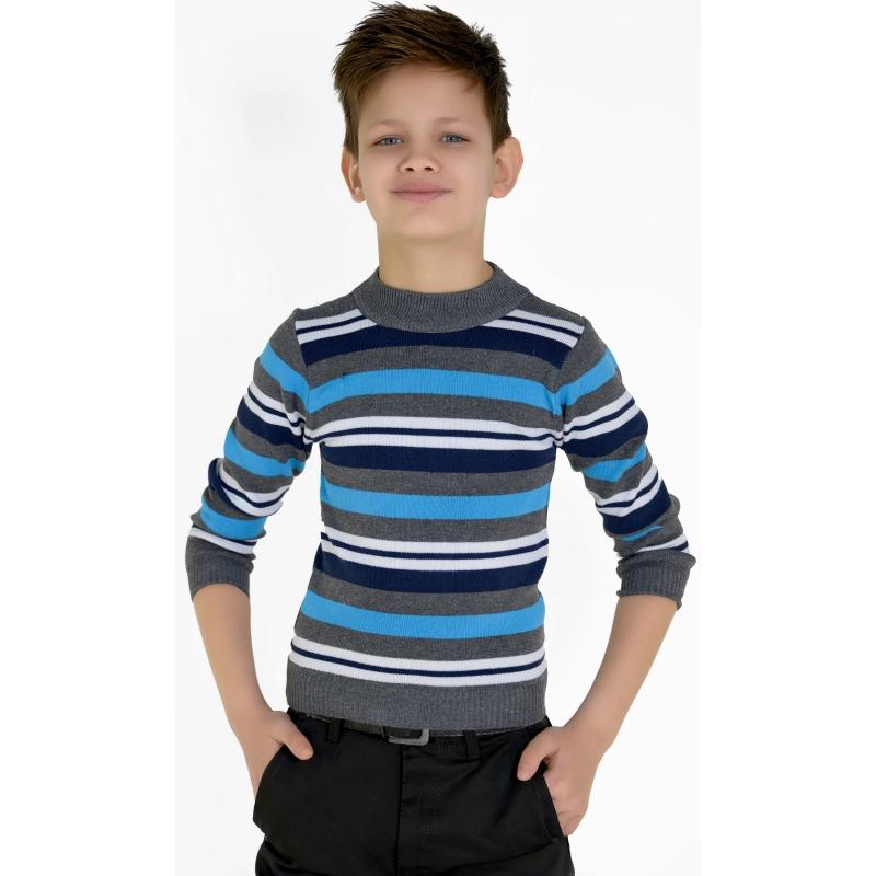 Свитер на мальчика полоска