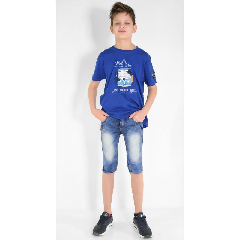 Шорты джинс-стрейч на мальчика