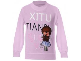 Батник девочка Xitu розовый