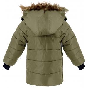 Куртка зимняя хаки на мальчика