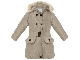 Куртка на девочку  бежевая