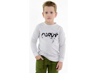 Батник мальчик Cord серый