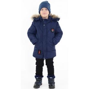 Куртка мальчик №7-619 синяя