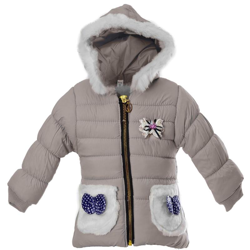 Куртка девочка карман  бантик