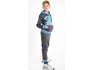 Костюм  на мальчика спортивный серый