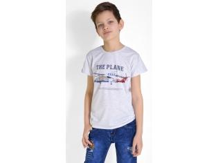 Футболка на мальчика серая