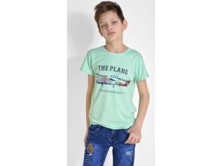Футболка на мальчика цвет мята