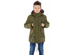 Куртка мальчик №LH-4 хаки