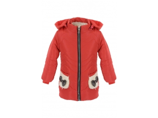 Куртка девочка №Sport-1 красная
