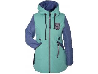 Куртка девочка №66-398 ментоловая