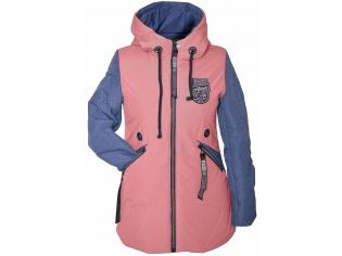 Куртка девочка №66-398 персиковая