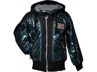 Куртка мальчик №9305 зелёная