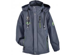 Куртка мальчик №В-01 серая
