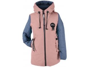 Куртка девочка №66-390 персиковая