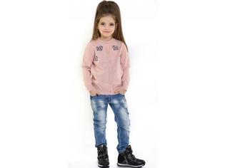 Кофта девочка №0812500 персиковая